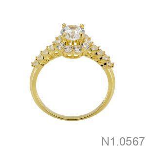 Nhẫn Nữ Vàng 18k Đính Đá Cz – N1.0567