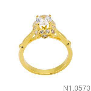 Nhẫn Nữ Vàng 18k Đính Đá Cz – N1.0573