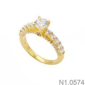 Nhẫn Nữ Vàng 18k Đính Đá Cz – N1.0574