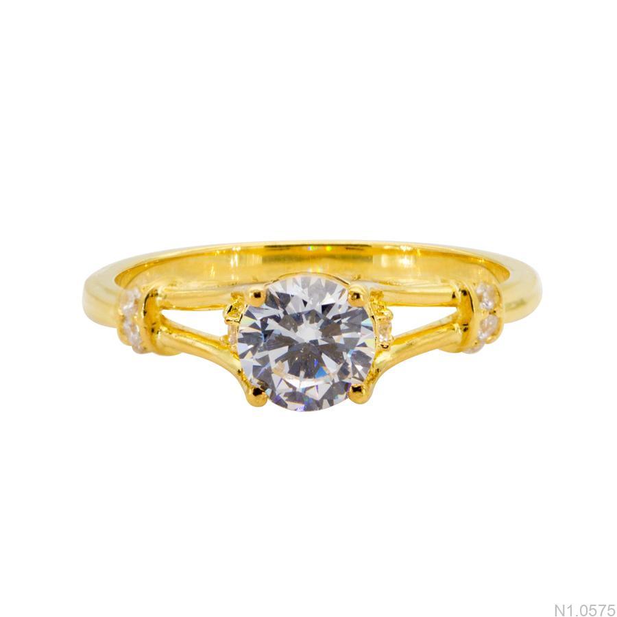 N1.0575-1 Nhẫn nữ vàng 18k