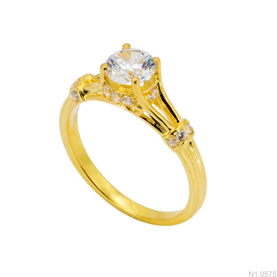 N1.0575-2 Nhẫn nữ vàng 18k