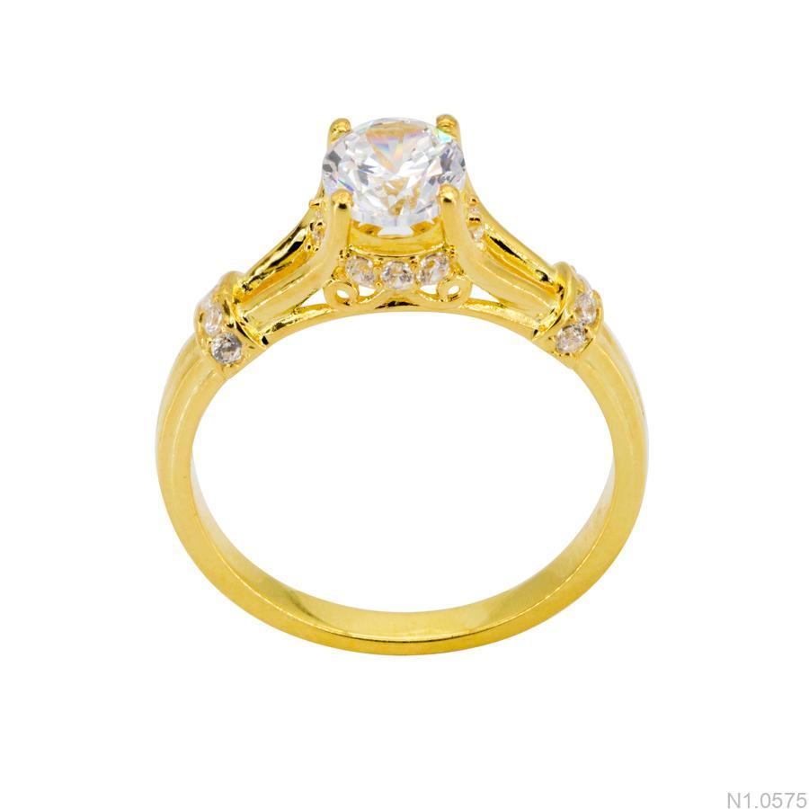 Nhẫn Nữ Vàng 18k Đính Đá Cz – N1.0575