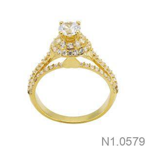 Nhẫn Nữ Vàng 18k Đính Đá Cz – N1.0579