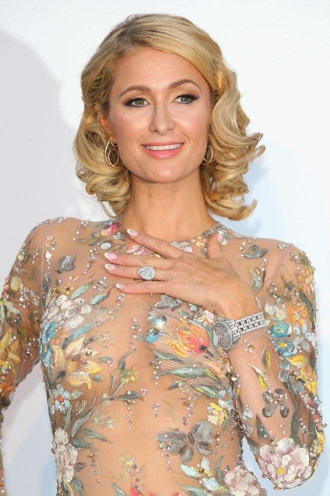 Nhẫn đính hôn Paris Hilton 1