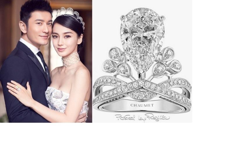 Nhẫn cưới của Angela Baby