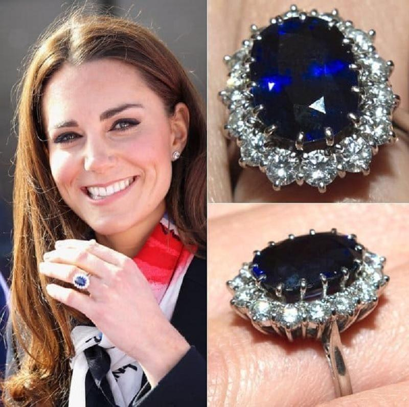 Nhẫn cưới của Kate Middleton