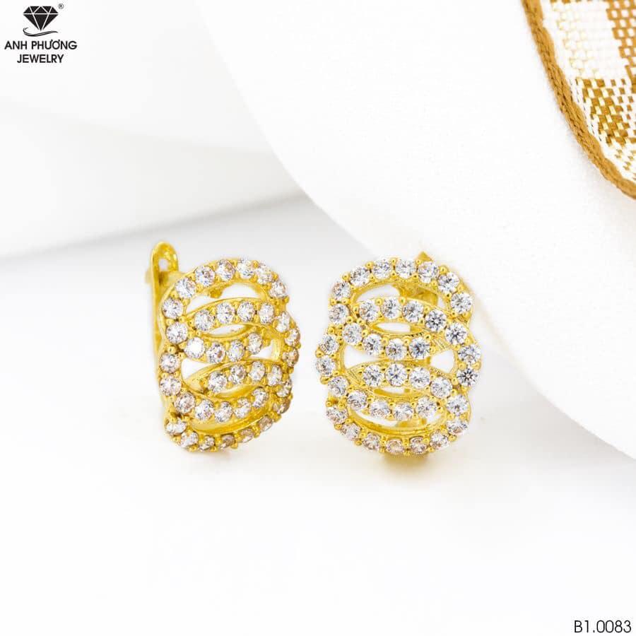 B1.0083 - Bông tai nữ vàng vàng