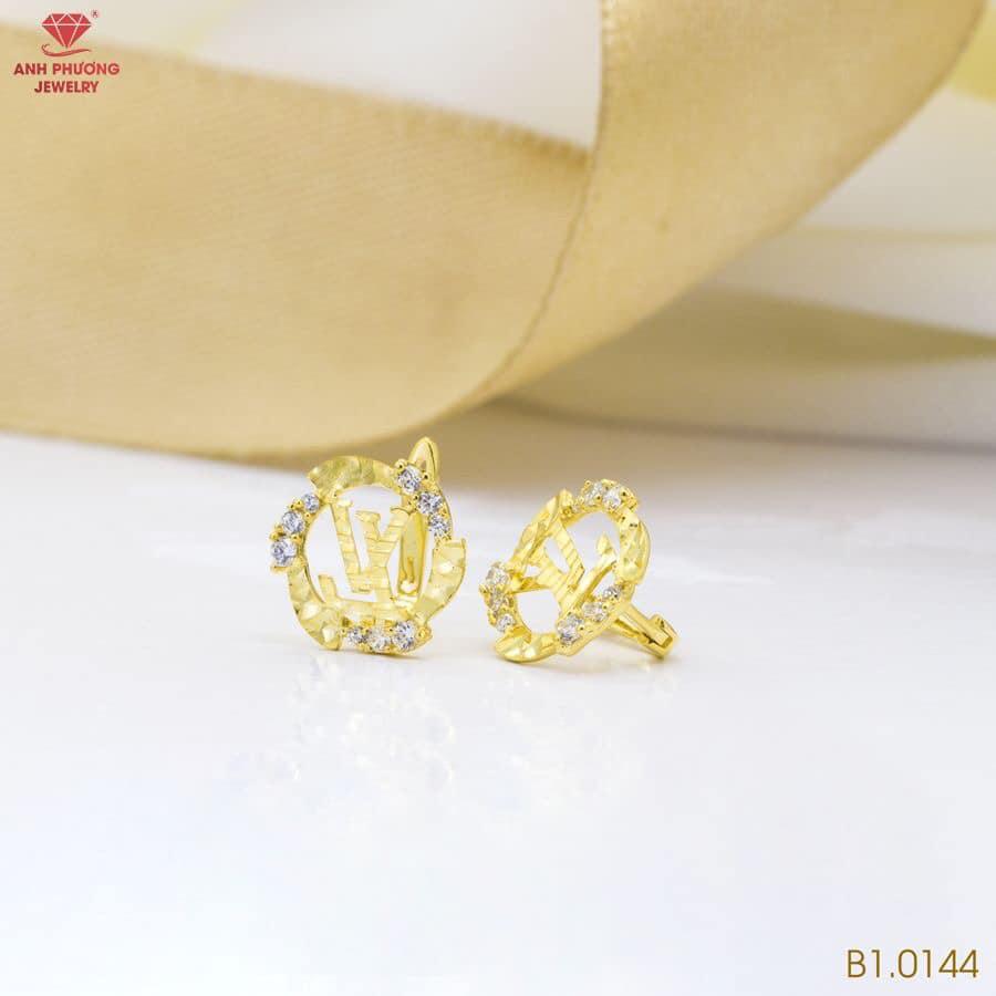 B1.0144 - Bông tai nữ vàng vàng