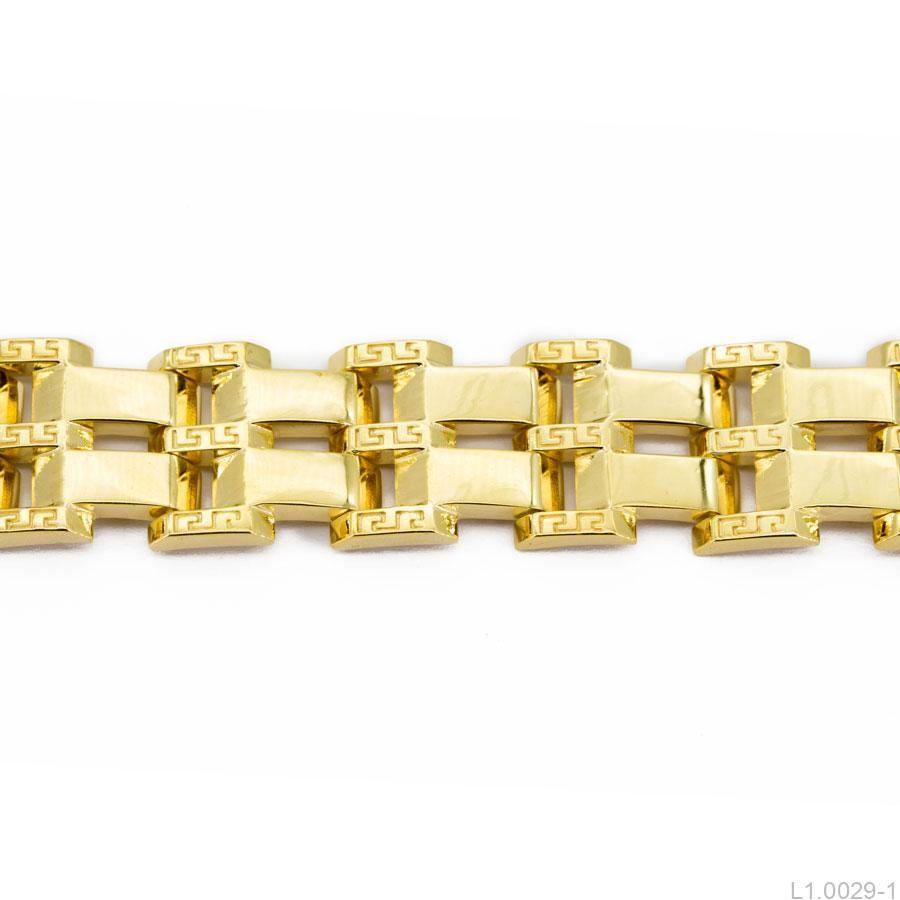 L1.0029-1-1 Lắc tay nam vàng 18k đẹp
