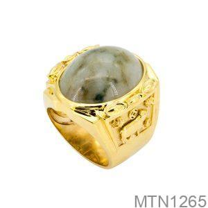 Nhẫn Nam Vàng Vàng 18k – MTN1265