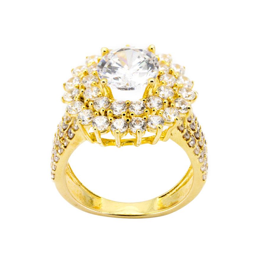 Nhẫn Nữ Vàng 18k Đính Đá Cz - N1.0015