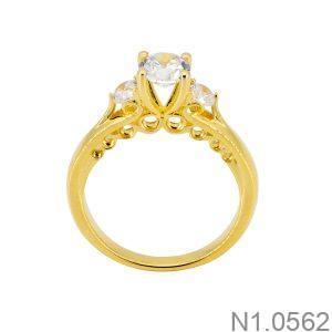 Nhẫn Nữ Vàng 18k Đính Đá Cz – N1.0562