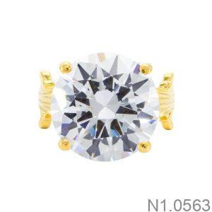 Nhẫn Nữ Vàng 18k Đính Đá Cz - N1.0563