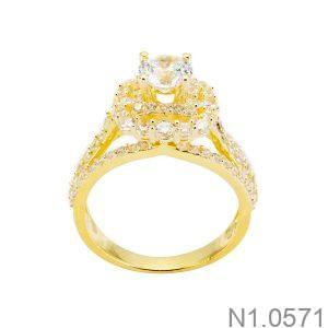 Nhẫn Nữ Vàng 18k Đính Đá Cz - N1.0571