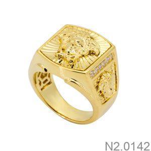 N2.0142-2 Nhẫn nam vàng vàng 18k Versace
