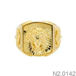 Nhẫn Nam Versace Vàng Vàng 18k – N2.0142