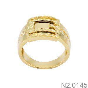 Nhẫn Nam Vàng 18k Đính Đá Cz – N2.0145