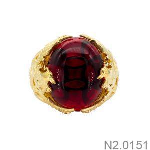 Nhẫn Nam Vàng 18k Đính Đá Cz – N2.0151