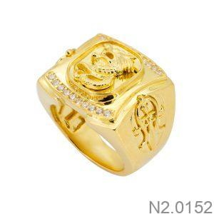 Nhẫn Nam Rồng Vàng Vàng 18k – N2.0152