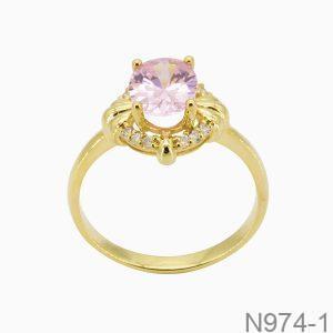 Nhẫn Nữ Vàng 10k Đính Đá Cz - N974-1