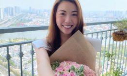 Nhẫn đính hôn hoa hậu Thùy Vân
