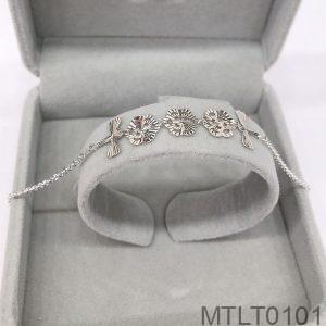 Lắc Tay Vàng Trắng 10K - MTLT0101