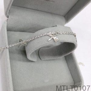 Lắc Chân Vàng Trắng 10K - MTLT0107