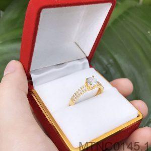 Nhẫn Nữ Vàng 18k Đính Đá Cz - MTNC0145.1