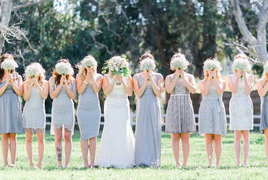 phụ dâu phụ rể đám cưới