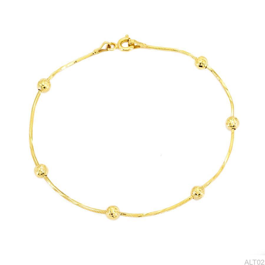 Lắc Tay Vàng Vàng 18K - ALT02
