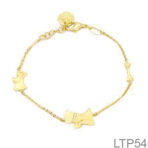 Lắc Tay Vàng Vàng 18K - LTP54