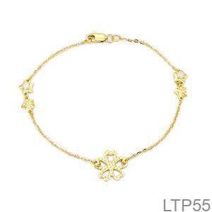 Lắc Tay Vàng Vàng 18K - LTP55