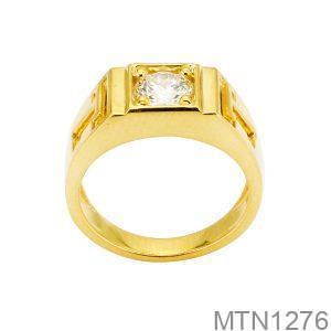 Nhẫn Nam Size Nhỏ Vàng 10K - MTN1276