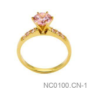 Nhẫn Nữ Vàng Vàng 10k Đính Đá Cz - NC0100.CN-1