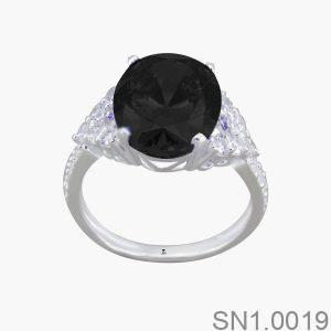 Nhẫn Bạc Nữ Đính Đá CZ- SN1.0019