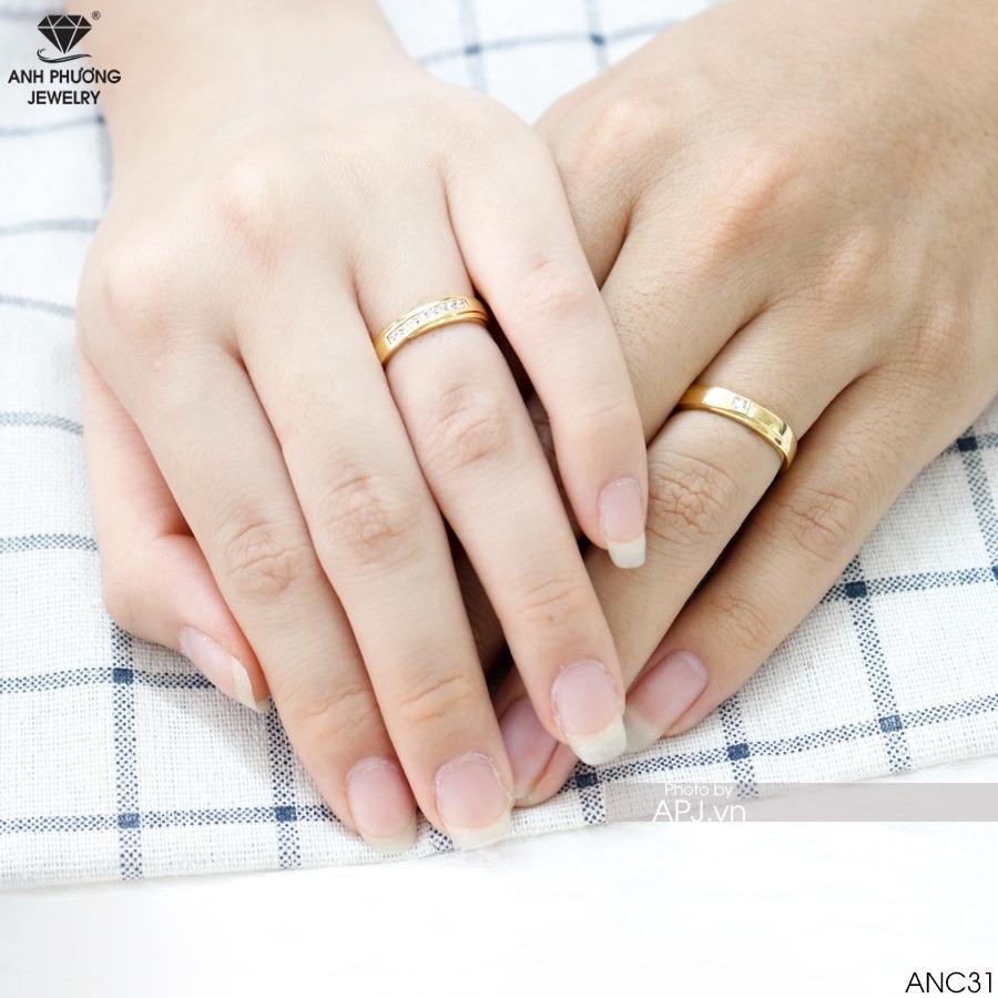 Nhẫn cưới hợp phong thủy