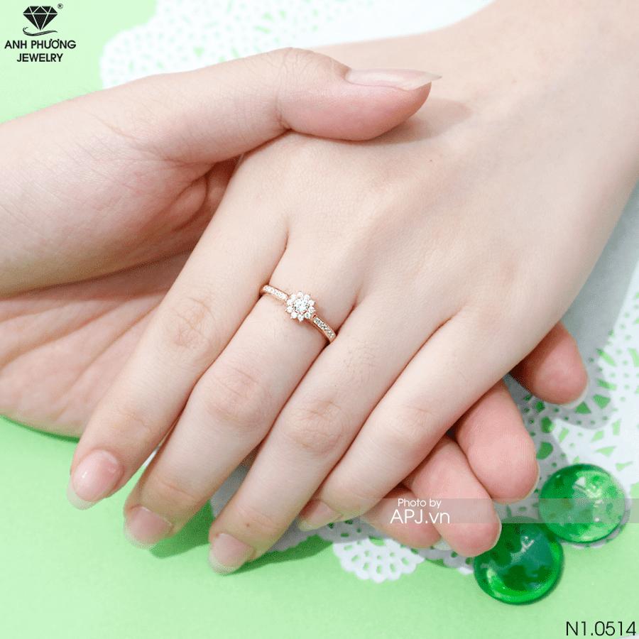 N1.0514 Nhẫn đính hôn đẹp