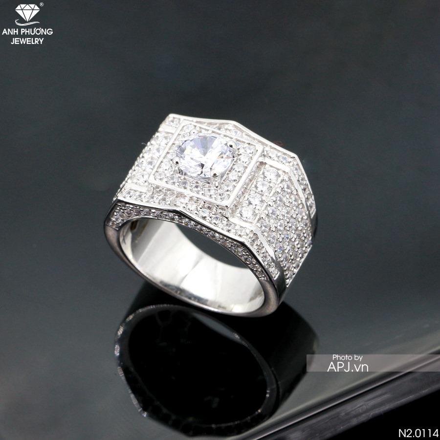 Nhẫn nam đẹp hấp dẫn phong thủy mệnh Kim Nhan-nam-phong-thuy-menh-kim-2