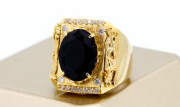 N2.0059 nhẫn nam rồng vàng trạm khắc 18k siêu đẹp
