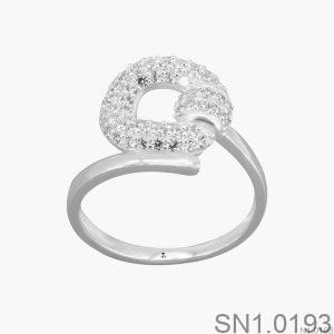 Nhẫn Bạc Nữ Đính Đá CZ - SN1.0193