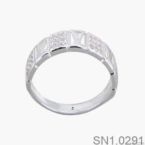 Nhẫn Bạc Nữ Đính Đá CZ - SN1.0291