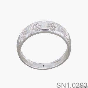 Nhẫn Bạc Nữ Đính Đá CZ - SN1.0293