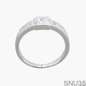 Nhẫn Bạc Nữ Đính Đá CZ - SNU35