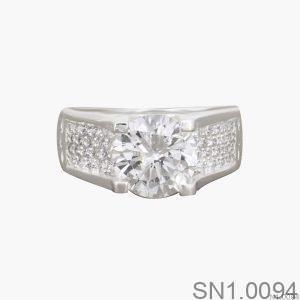 Nhẫn Bạc Nữ Đính Đá CZ - SN1.0094