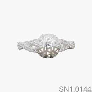 Nhẫn Bạc Nữ Đính Đá CZ - SN1.0144