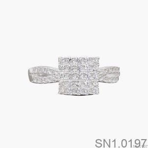 Nhẫn Bạc Nữ Đính Đá CZ - SN1.0197