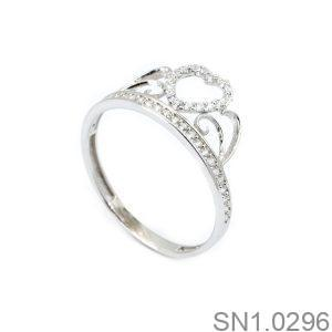 Nhẫn Bạc Nữ Đính Đá CZ - SN1.0296