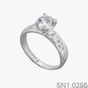 Nhẫn Bạc Nữ Đính Đá CZ - SN1.0295