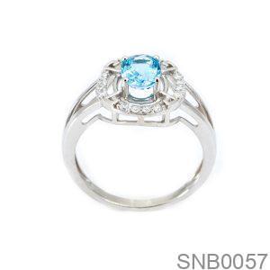 Nhẫn Bạc Nữ Đính Đá CZ - SNB0057