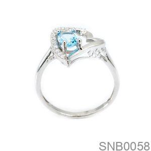 Nhẫn Bạc Nữ Đính Đá CZ - SNB0058